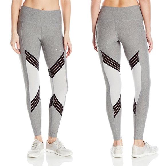 390e239358c14 X by Gottex Pants | Mesh Trim Workout Leggings | Poshmark
